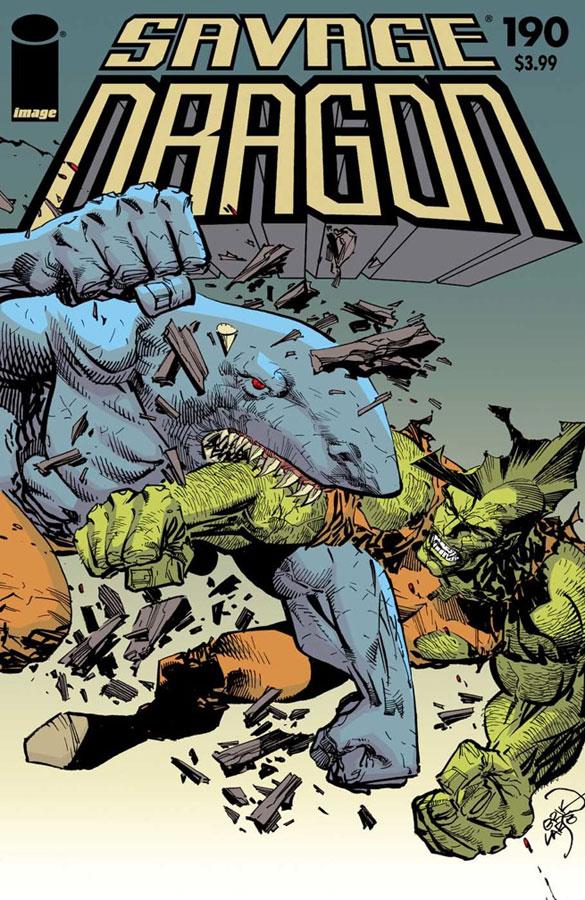 Cover Savage Dragon Vol.2 #190
