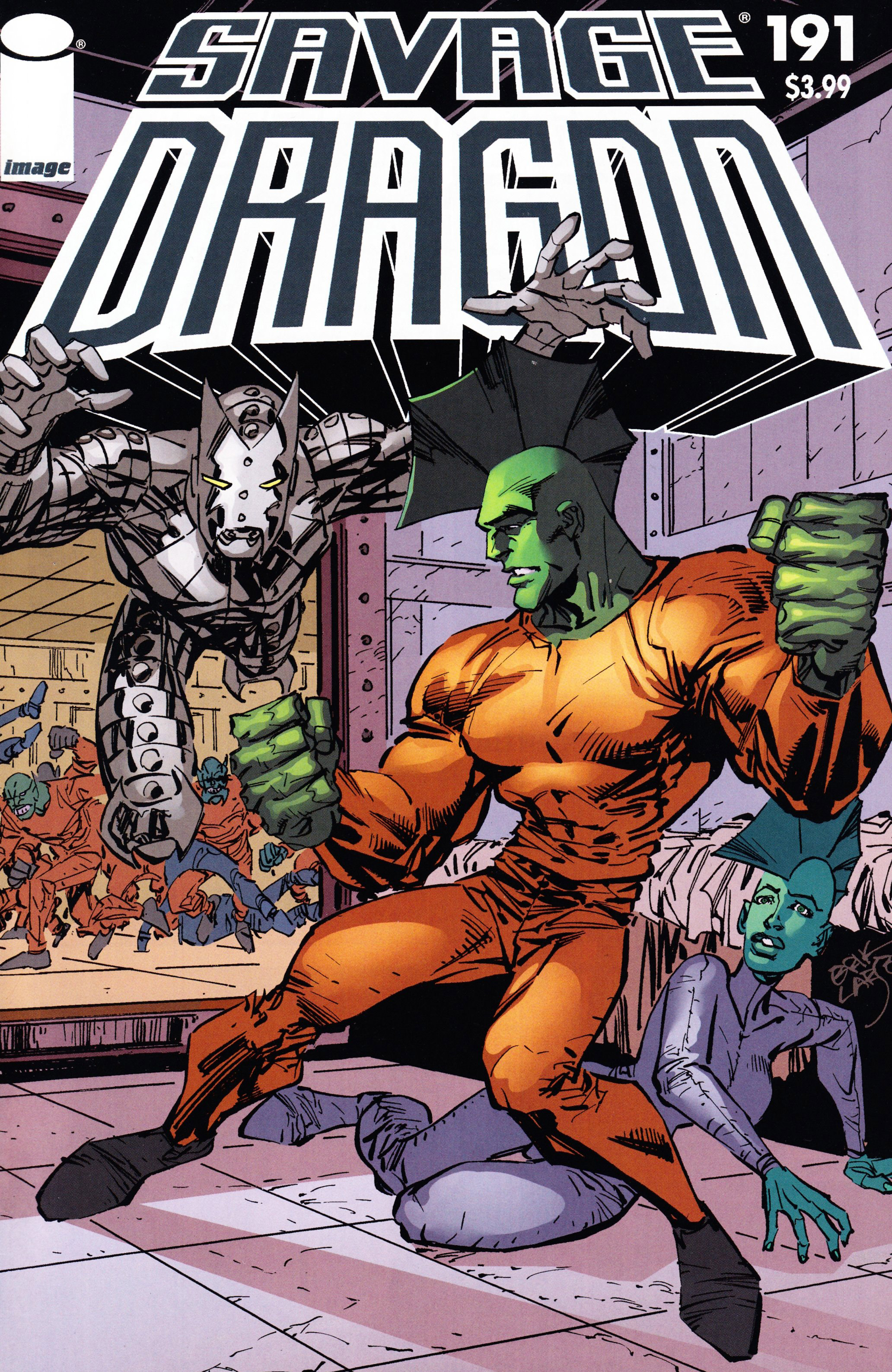 Cover Savage Dragon Vol.2 #191