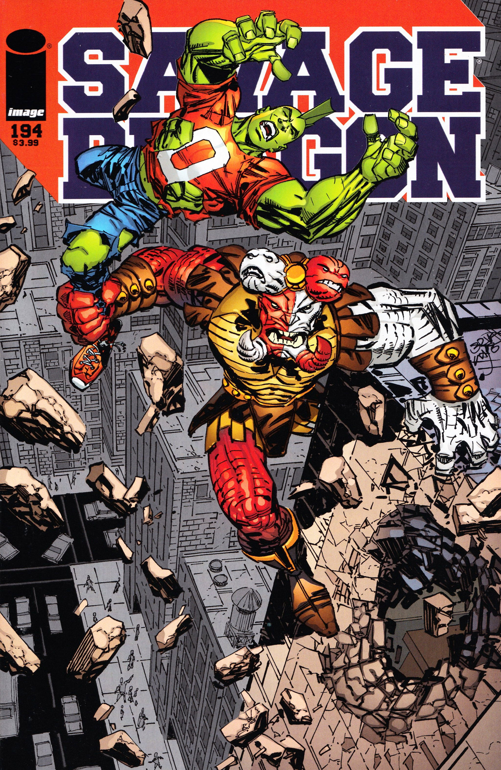Cover Savage Dragon Vol.2 #194