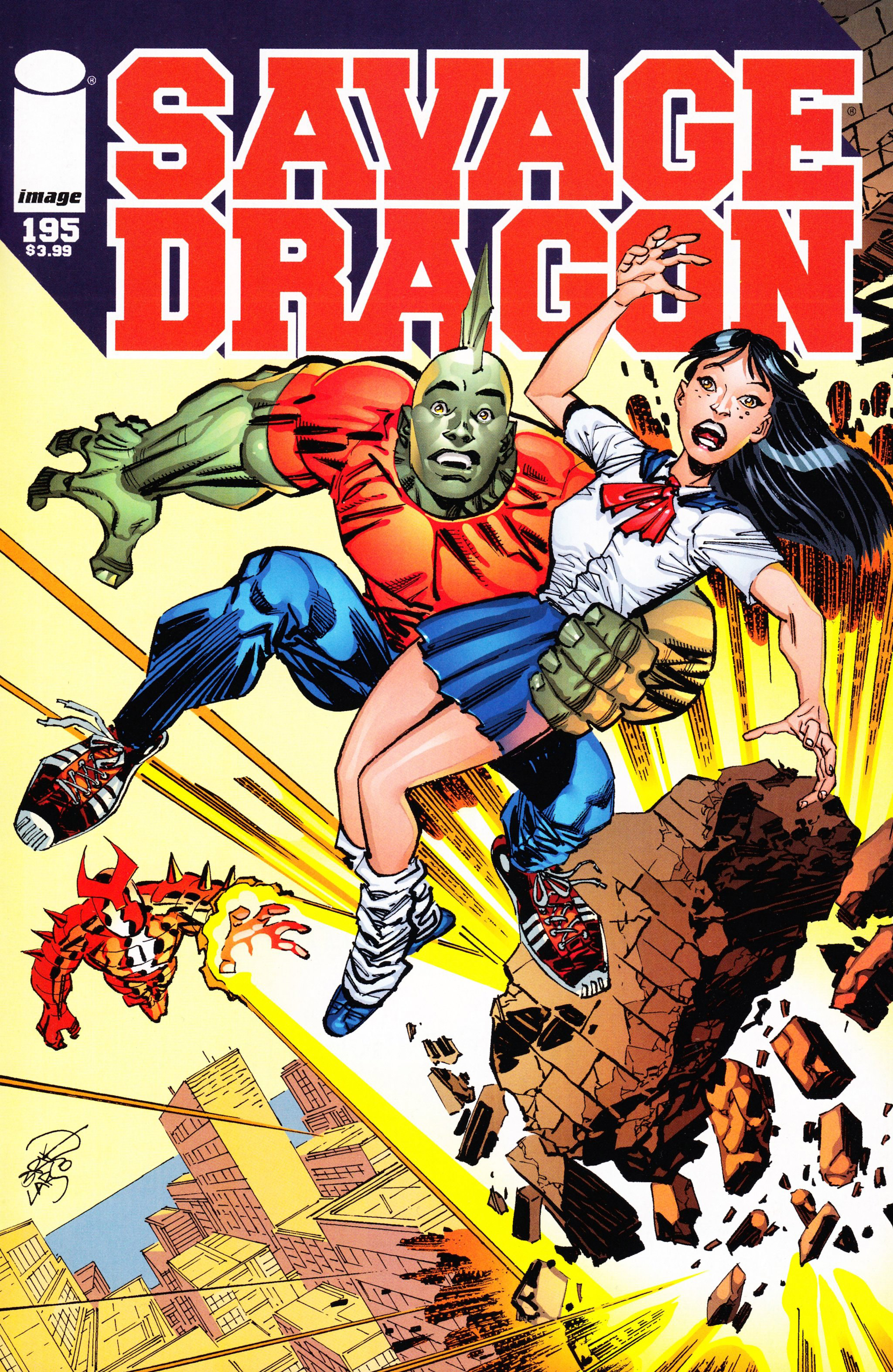 Cover Savage Dragon Vol.2 #195