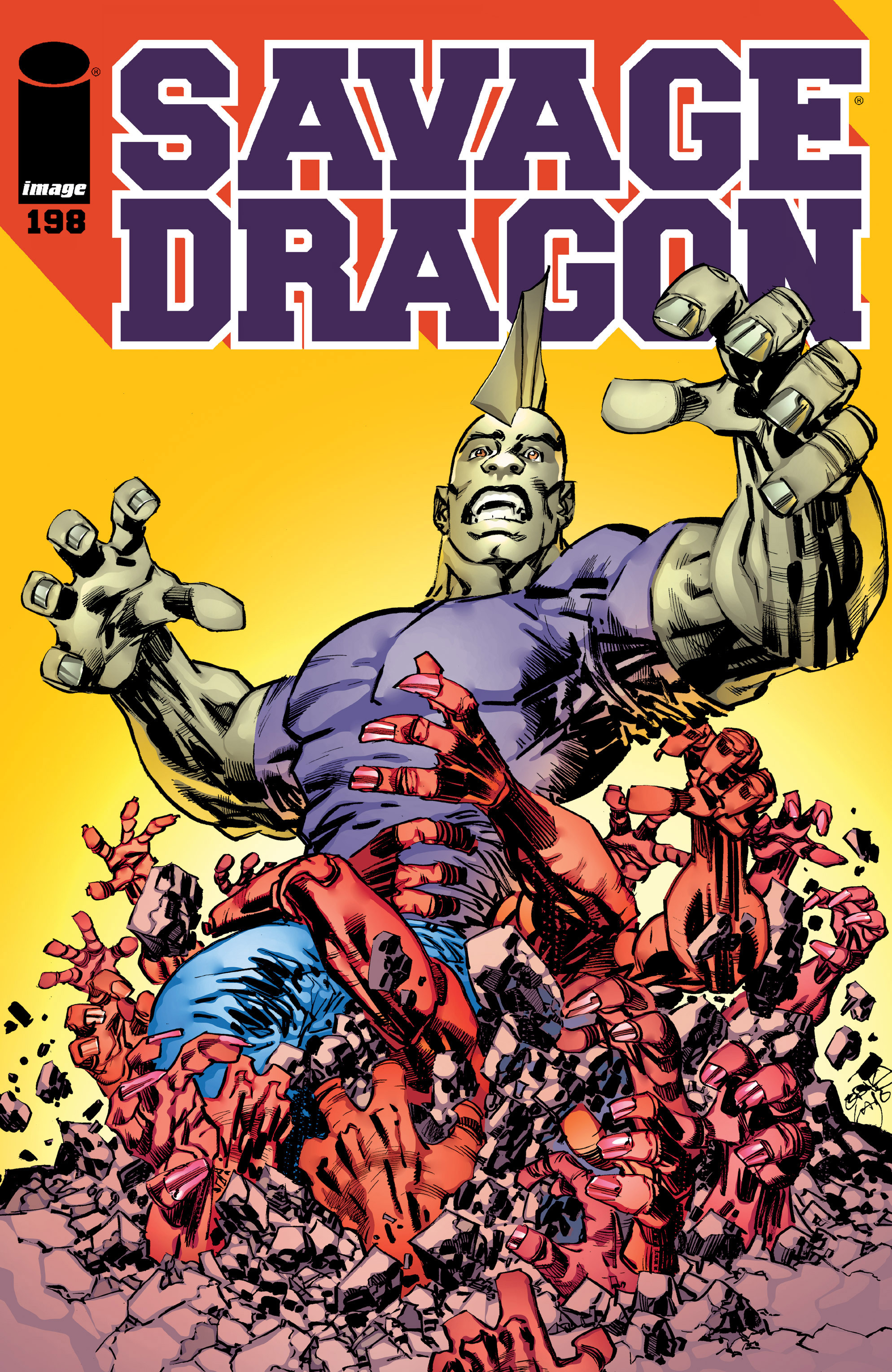 Cover Savage Dragon Vol.2 #198