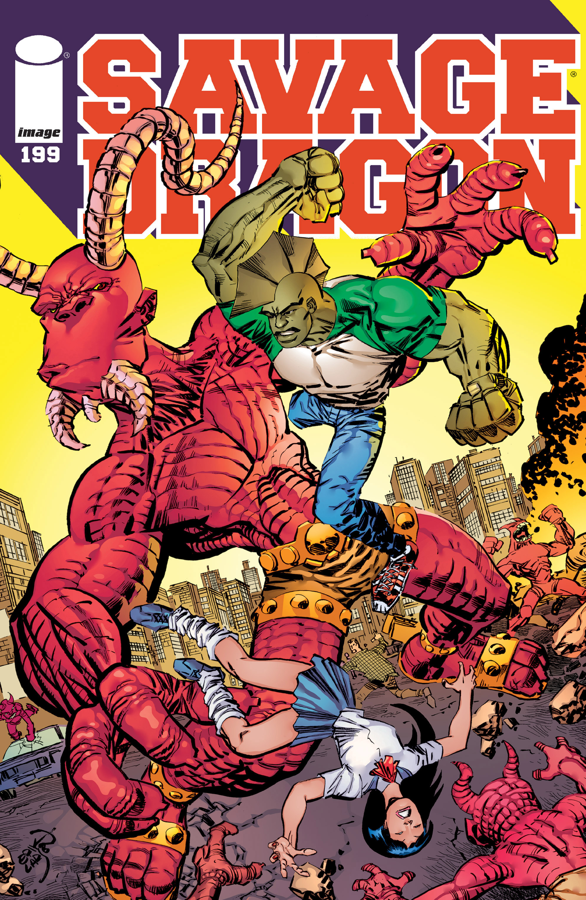 Cover Savage Dragon Vol.2 #199