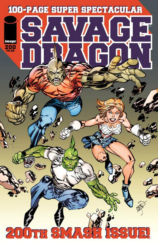 Cover Savage Dragon Vol.2 #200