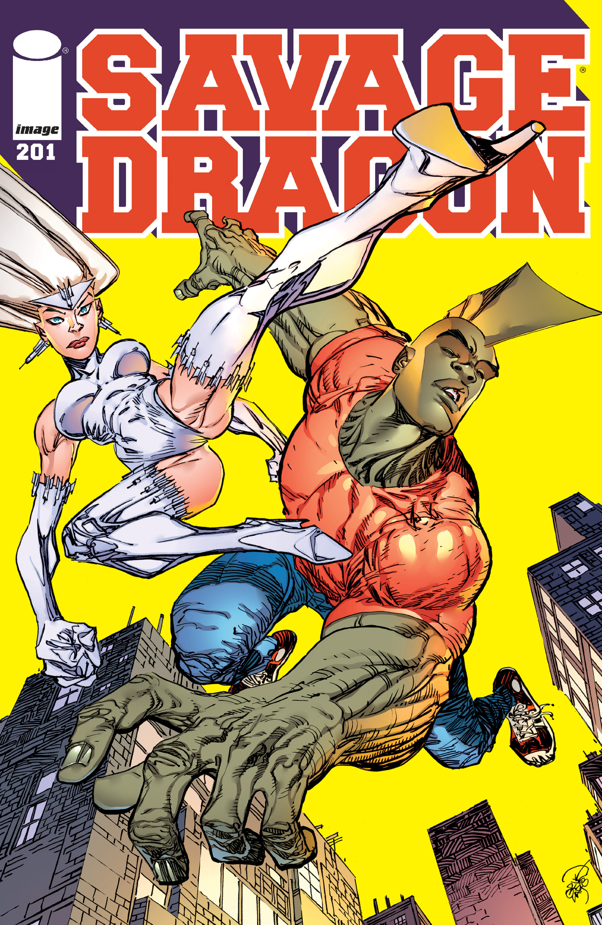 Cover Savage Dragon Vol.2 #201