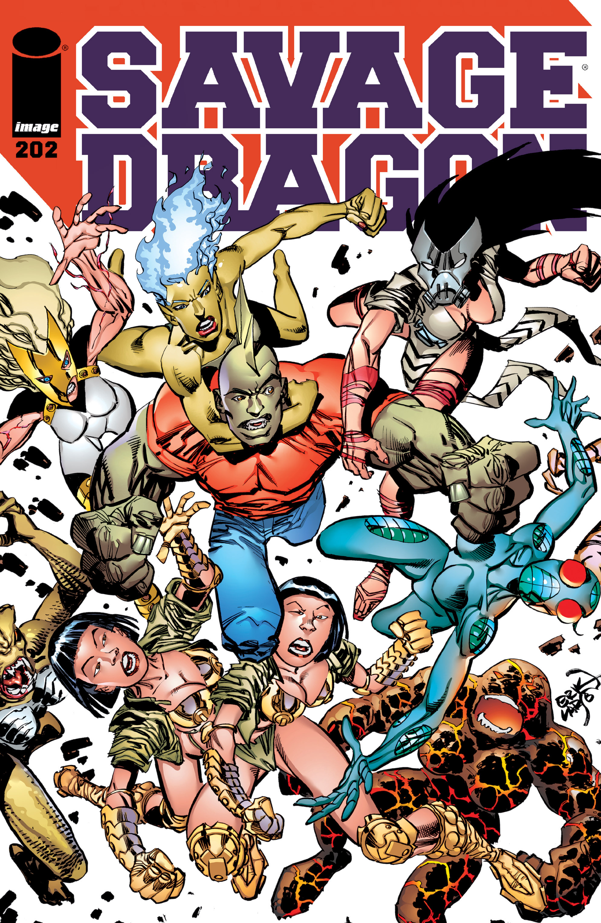 Cover Savage Dragon Vol.2 #202