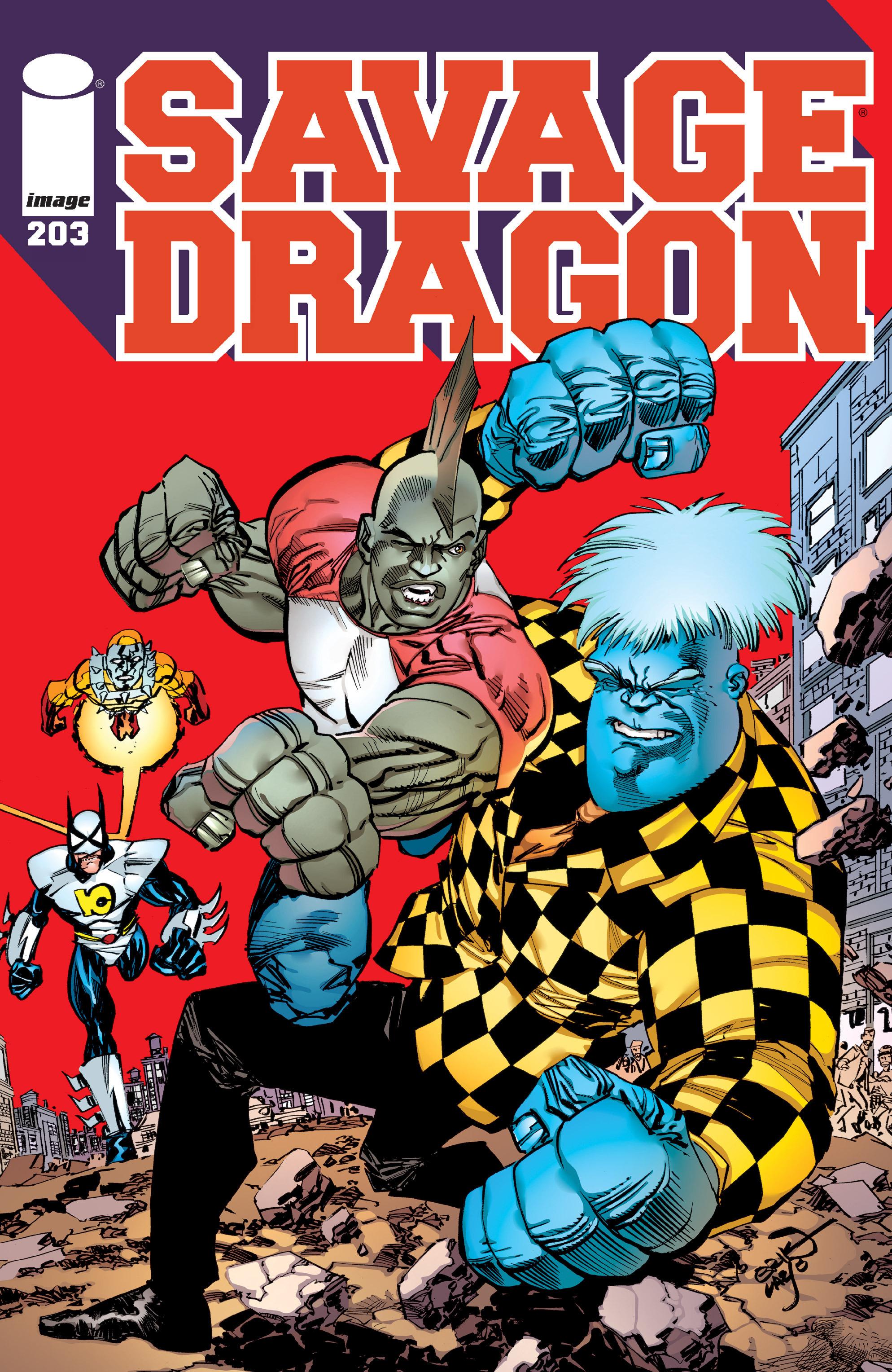 Cover Savage Dragon Vol.2 #203