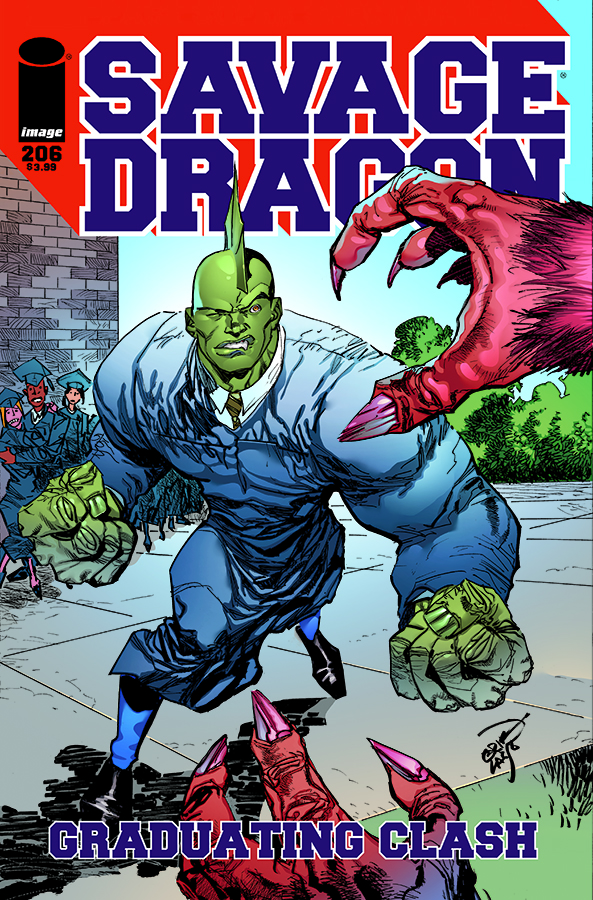 Cover Savage Dragon Vol.2 #206