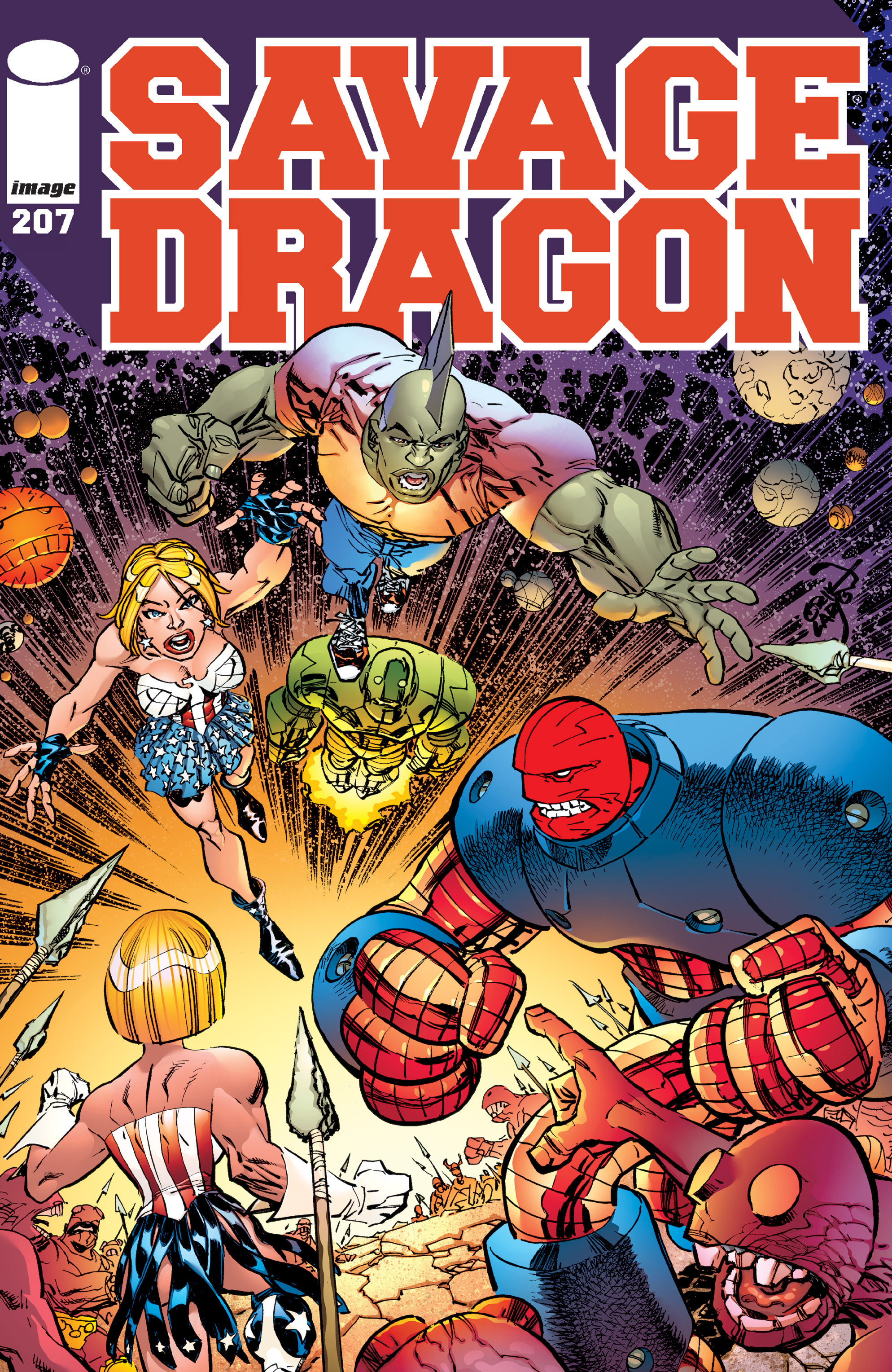 Cover Savage Dragon Vol.2 #207