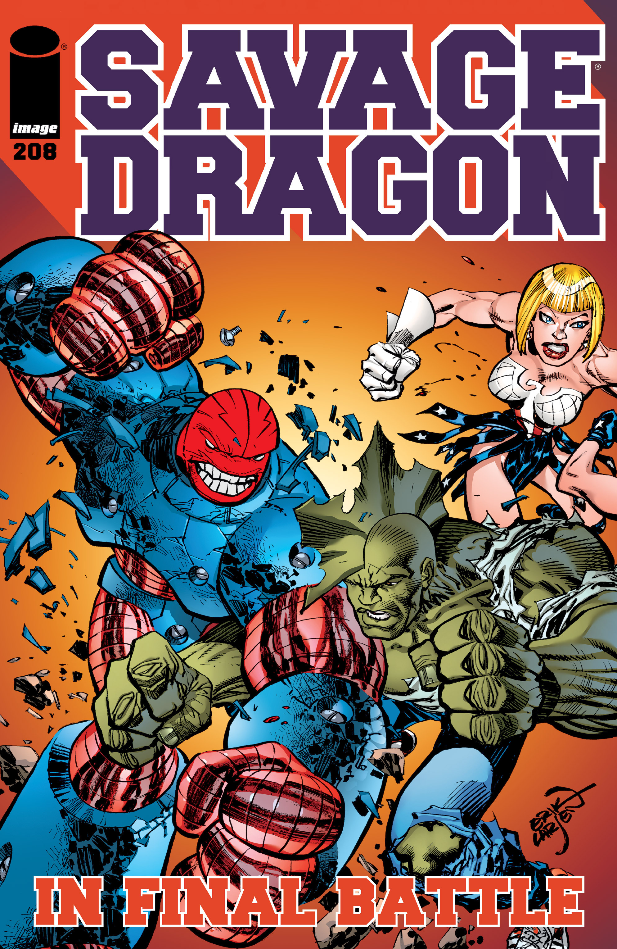 Cover Savage Dragon Vol.2 #208