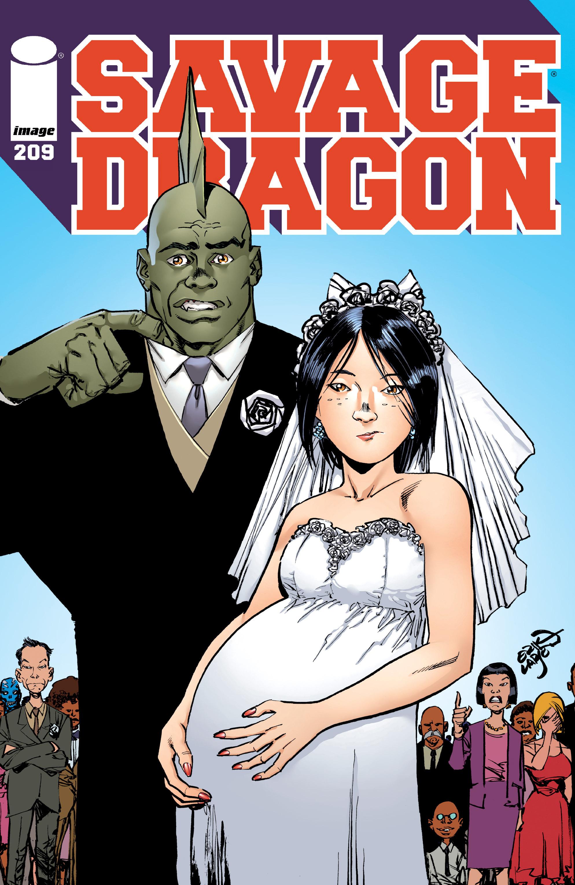 Cover Savage Dragon Vol.2 #209