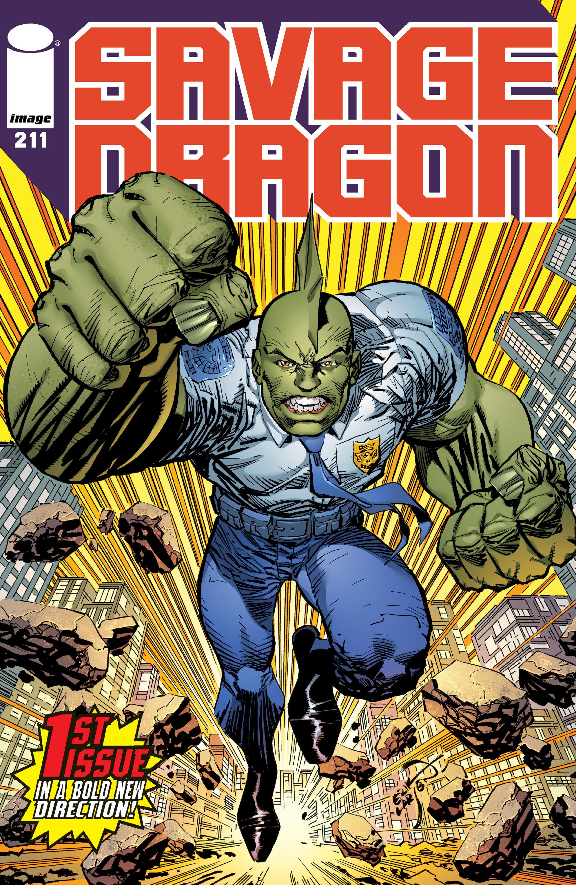 Cover Savage Dragon Vol.2 #211