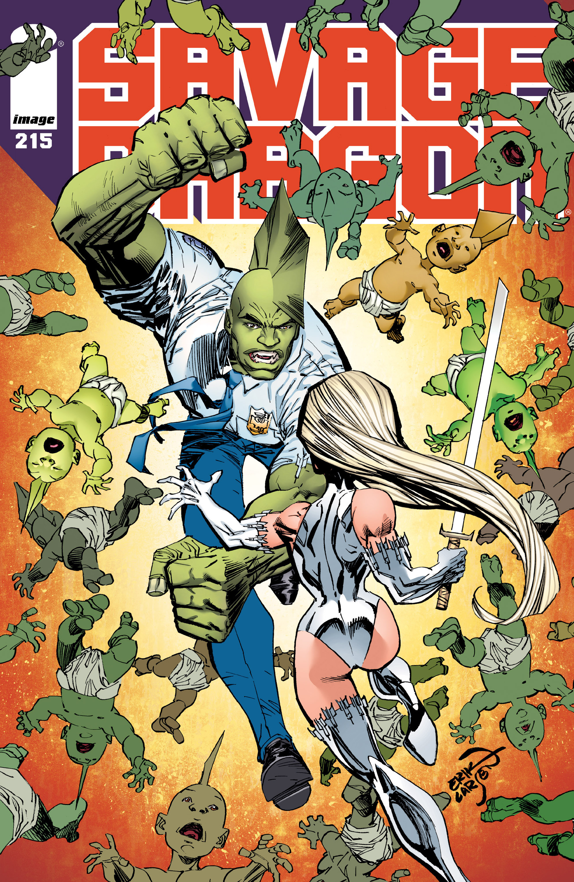 Cover Savage Dragon Vol.2 #215