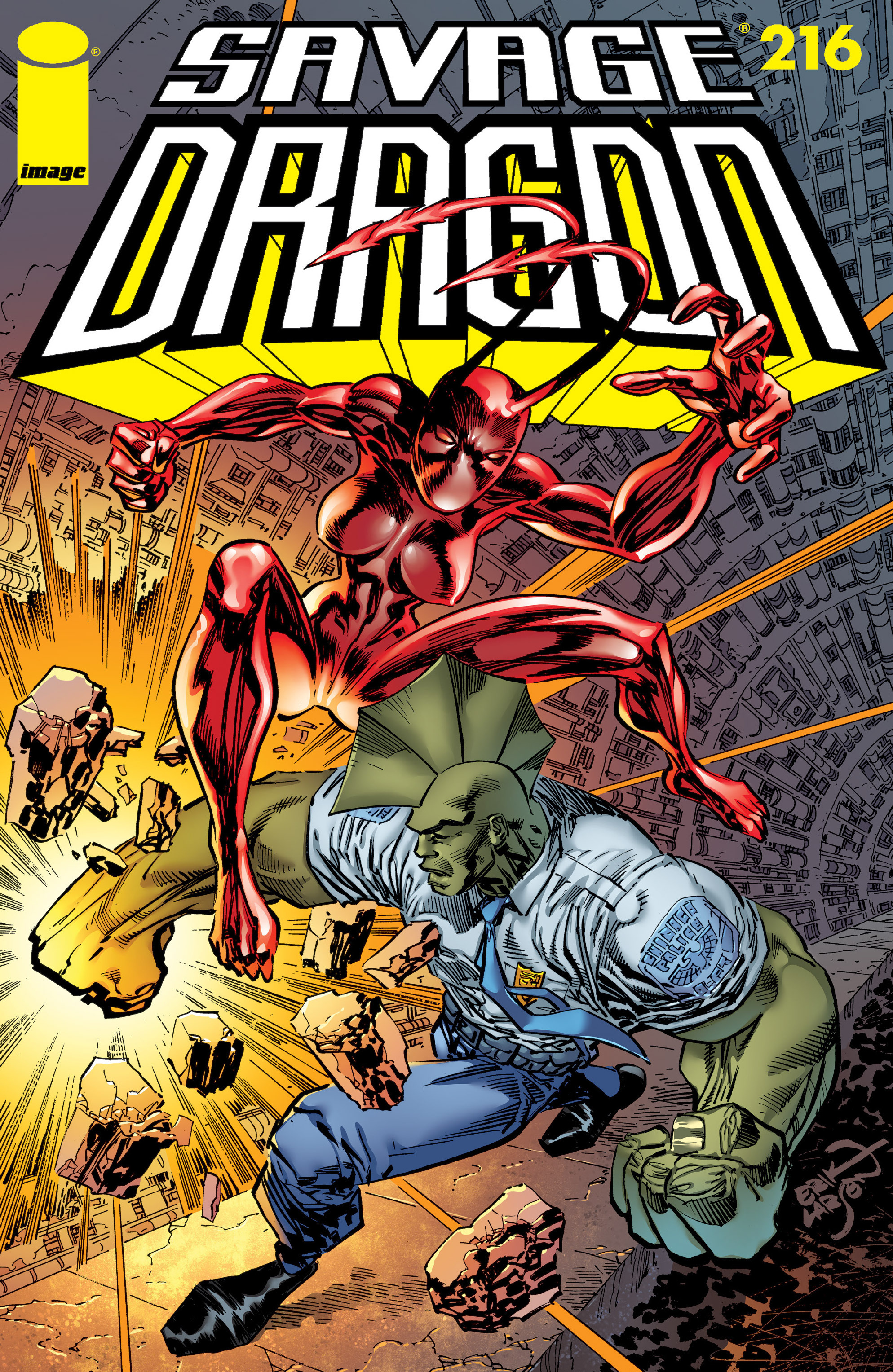 Cover Savage Dragon Vol.2 #216