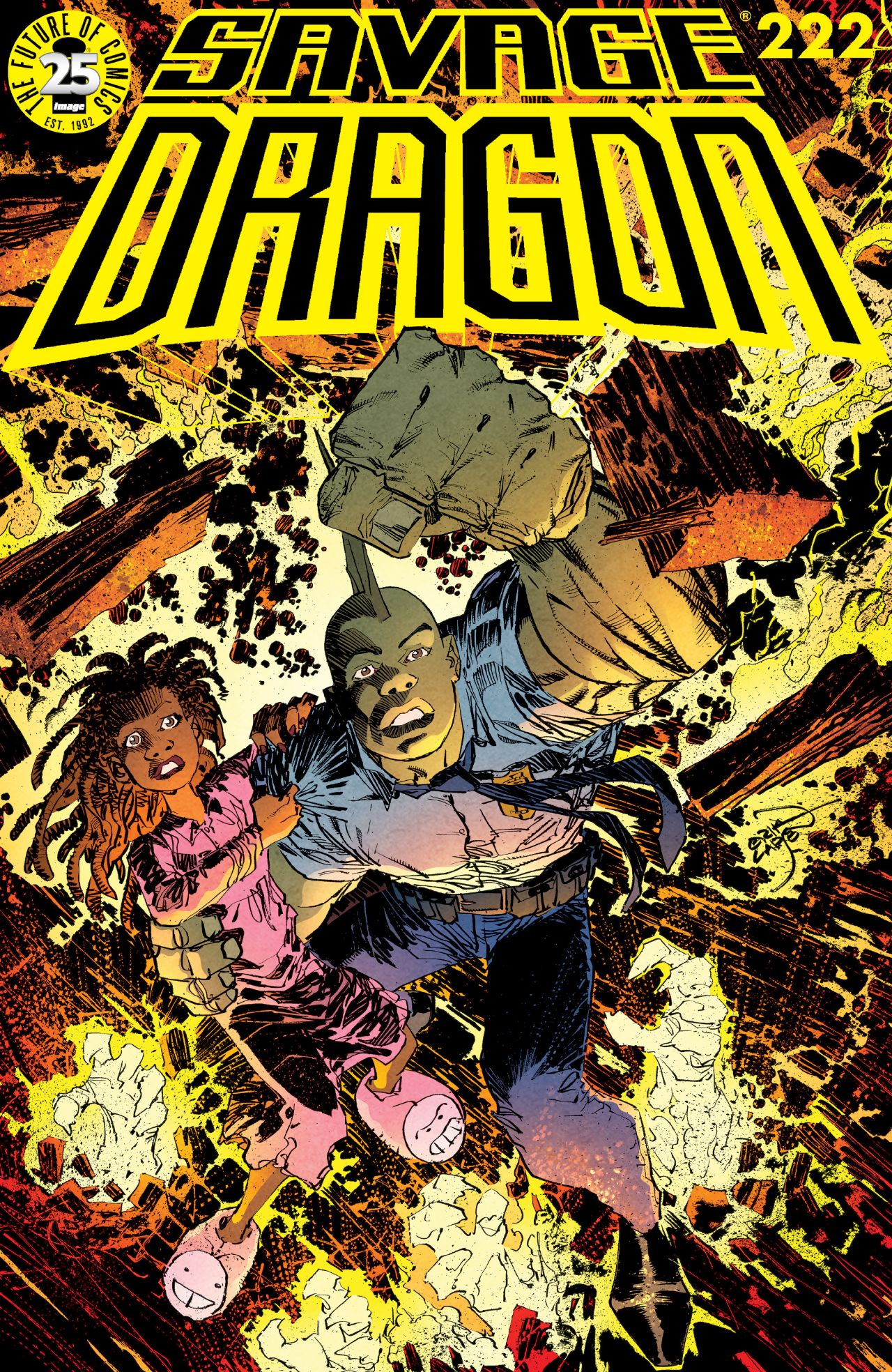 Cover Savage Dragon Vol.2 #222