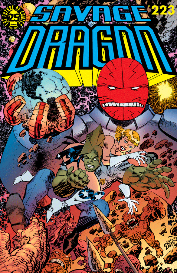 Cover Savage Dragon Vol.2 #223
