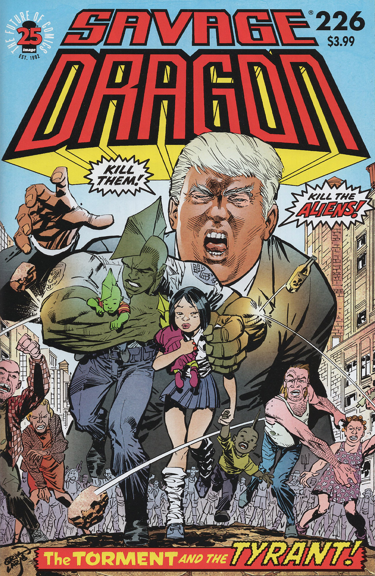 Cover Savage Dragon Vol.2 #226