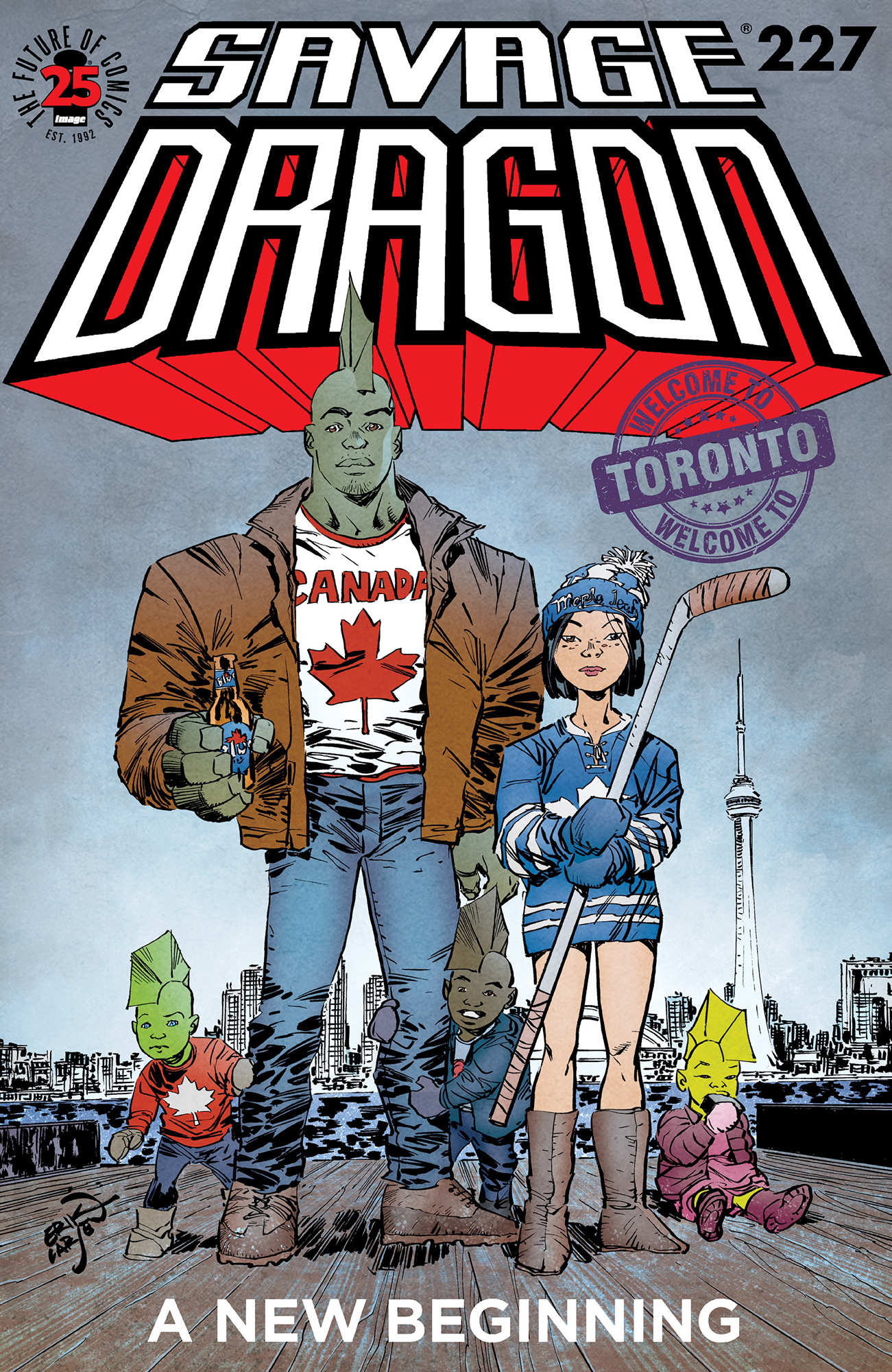 Cover Savage Dragon Vol.2 #227