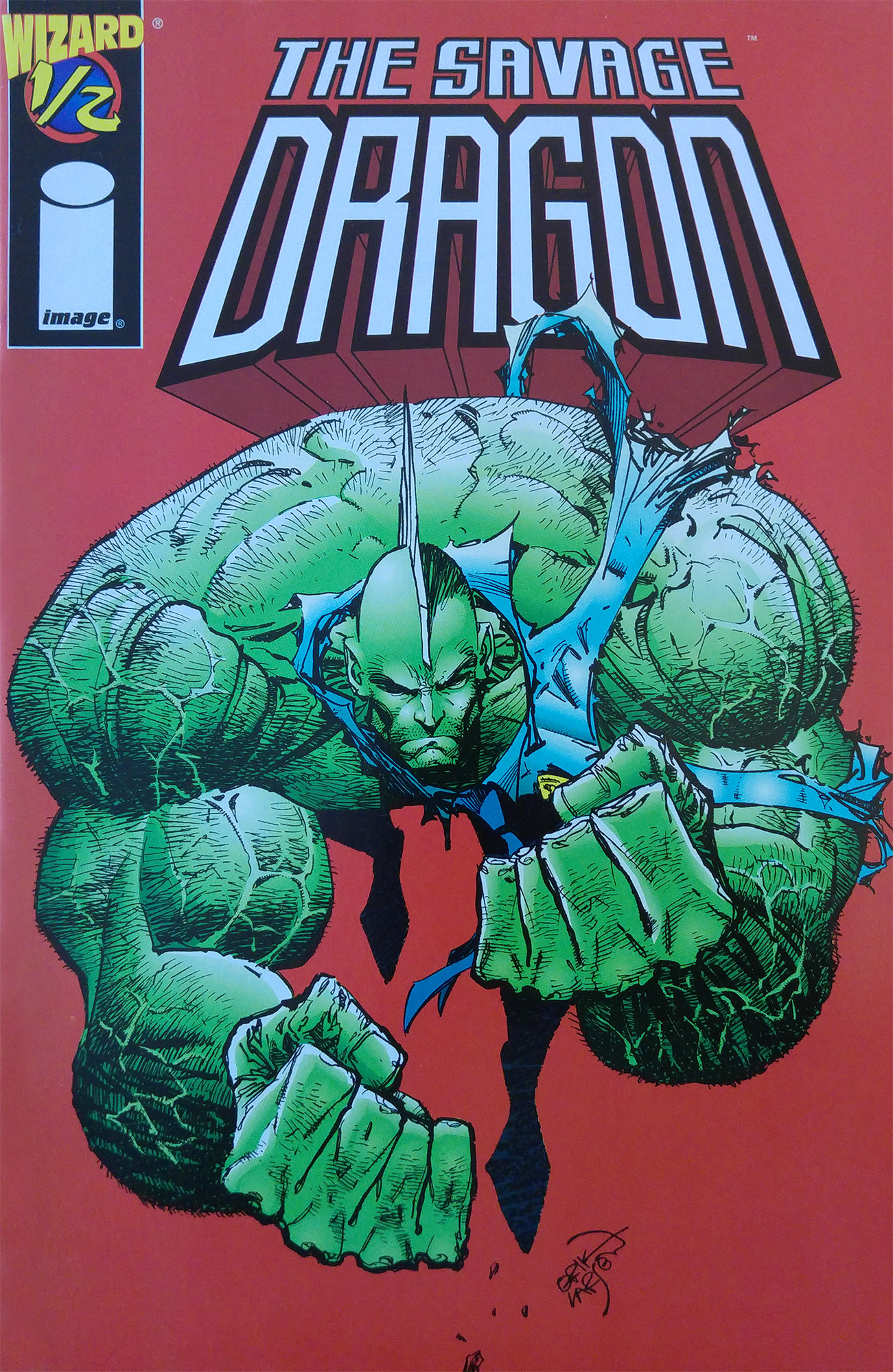 Cover Savage Dragon #½