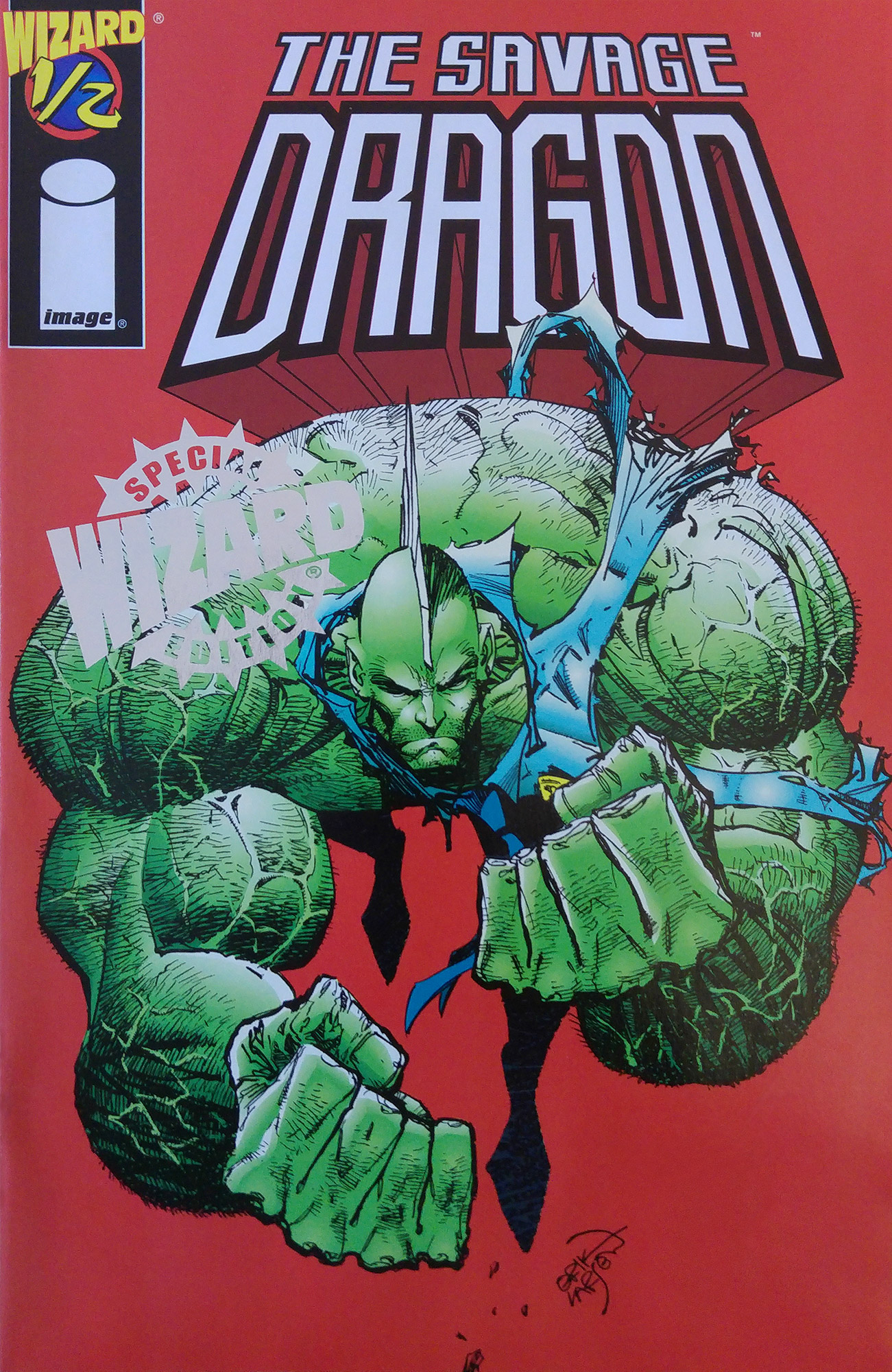 Cover Savage Dragon Vol.2 #1/2
