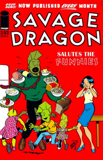 Cover Savage Dragon Vol.2 #252