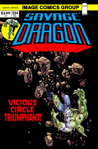 Cover Savage Dragon Vol.2 #254