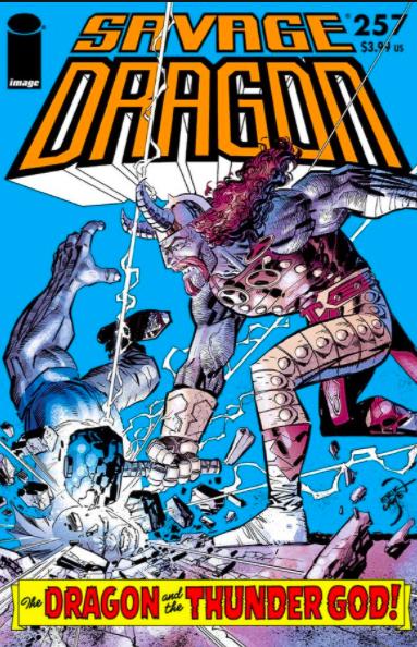 Cover Savage Dragon Vol.2 #257