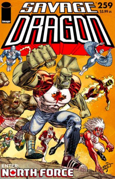 Cover Savage Dragon Vol.2 #259