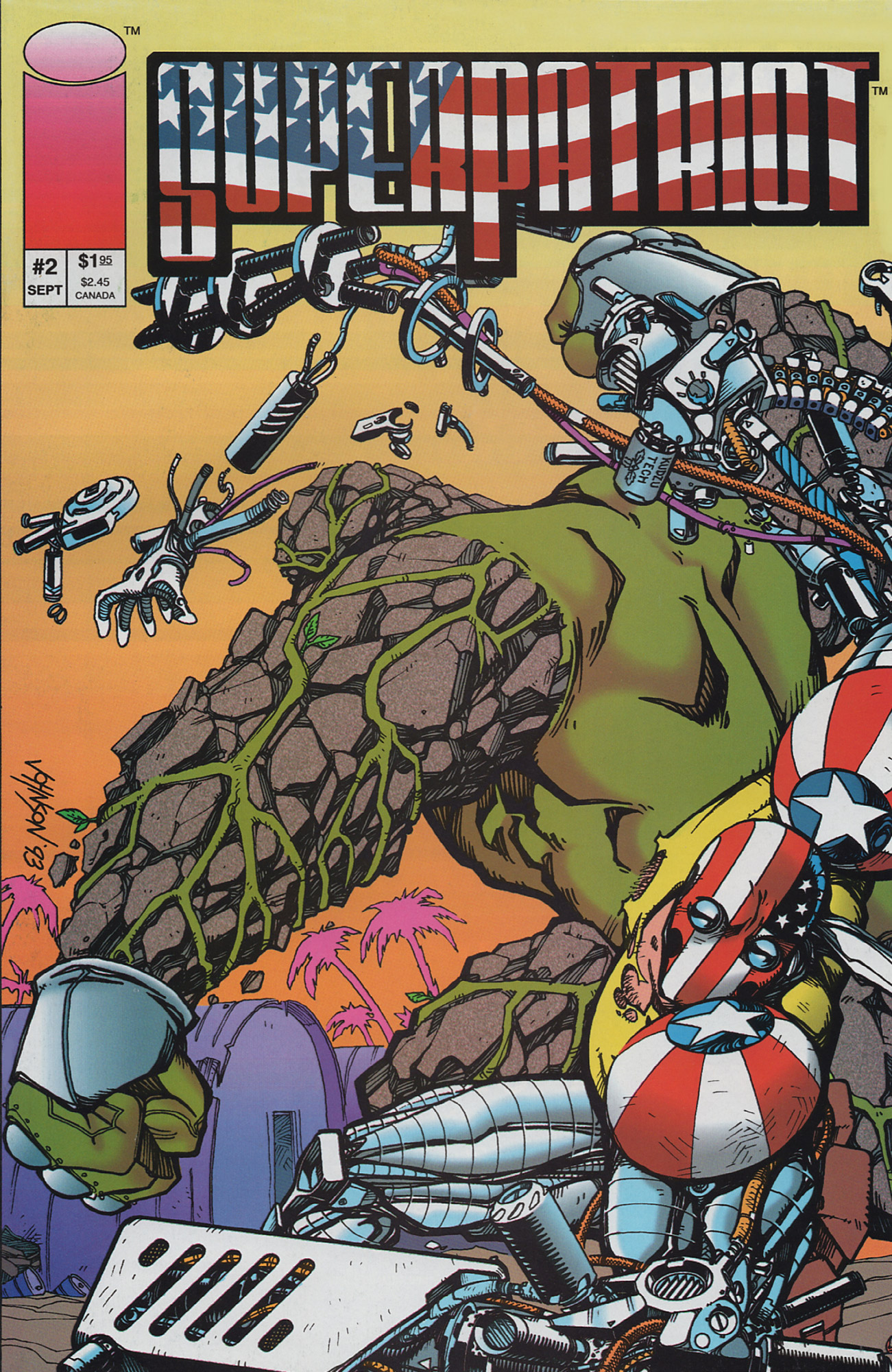 Cover SuperPatriot Vol.1 #2