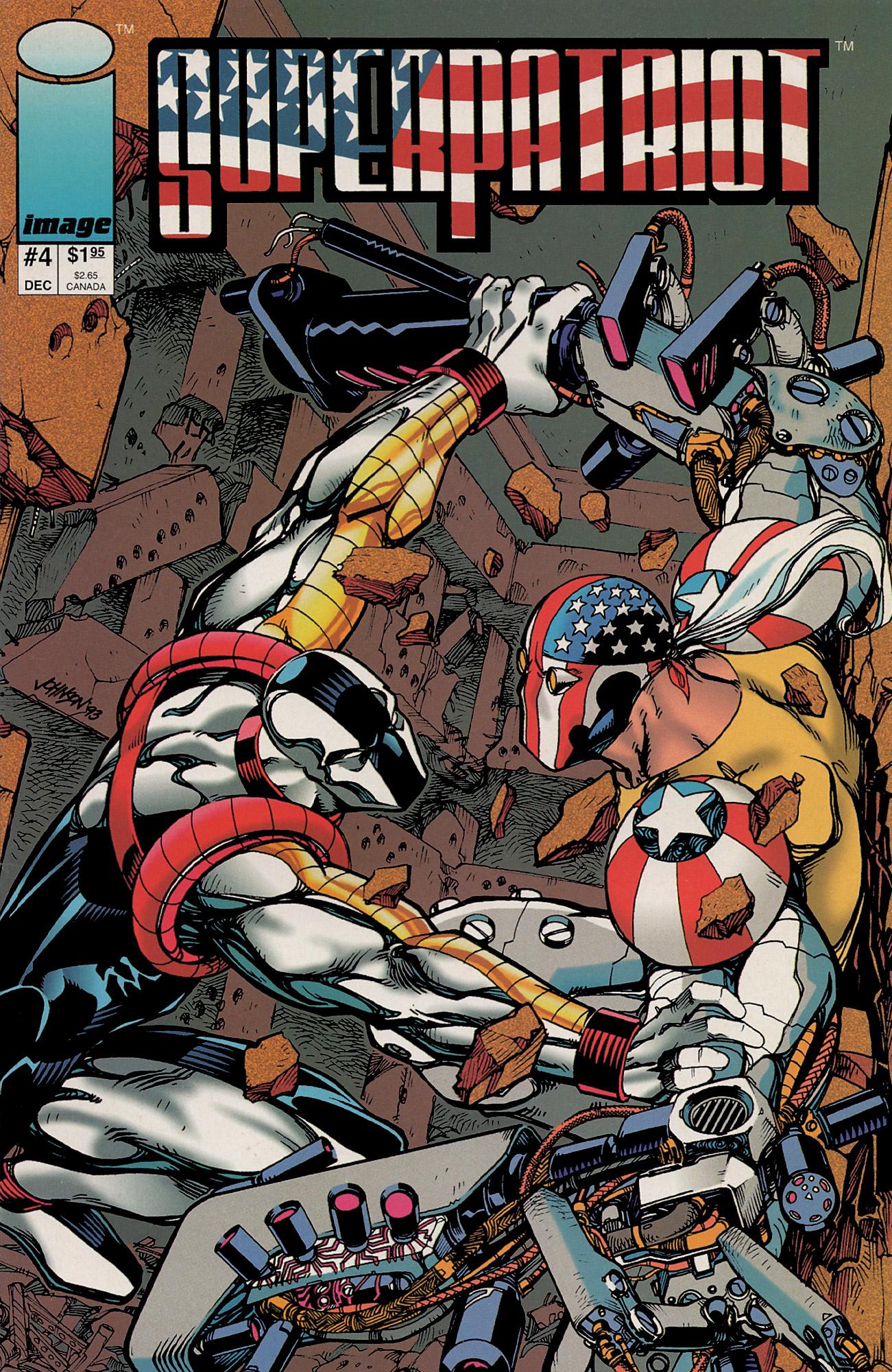 Cover SuperPatriot Vol.1 #4