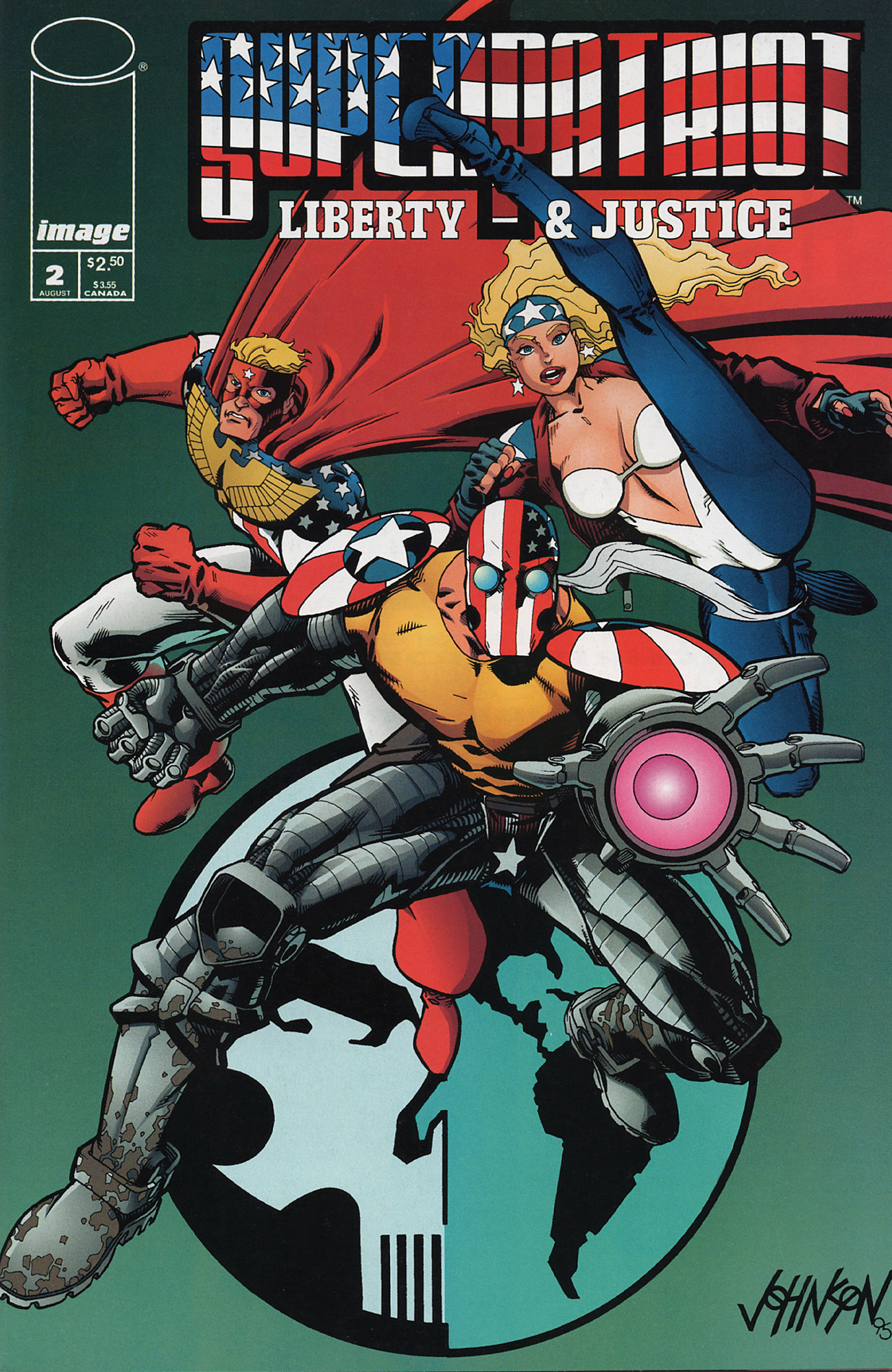 Cover SuperPatriot Vol.2 #2