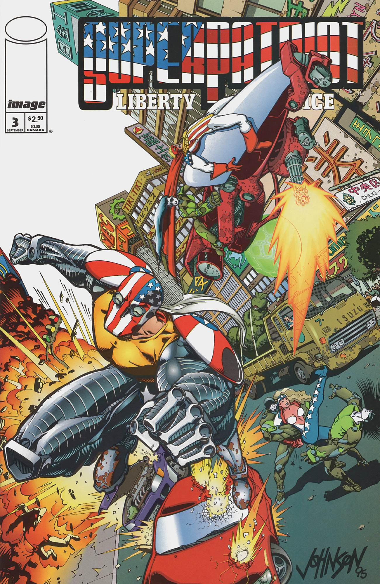 Cover SuperPatriot Vol.2 #3