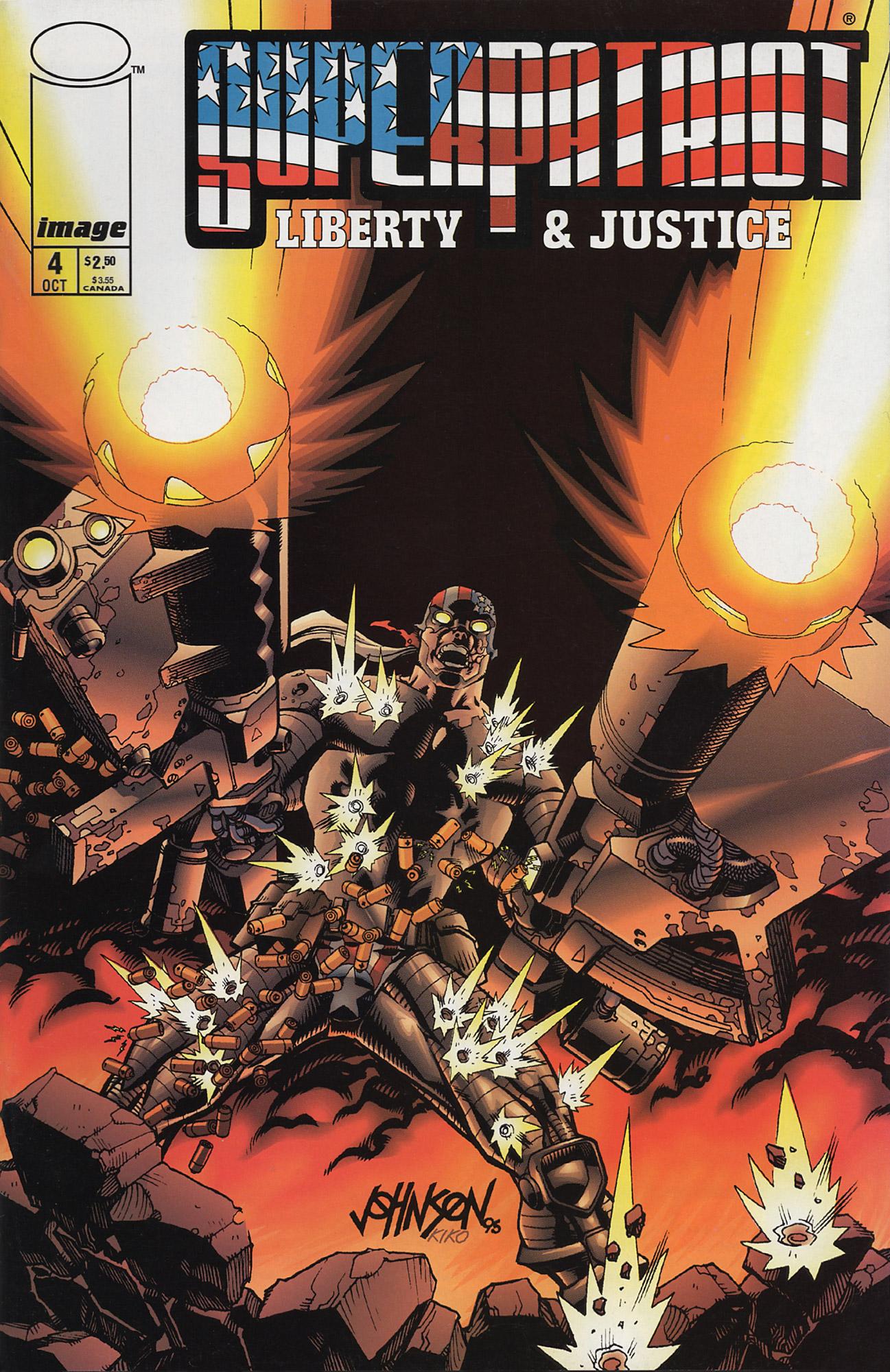 Cover SuperPatriot Vol.2 #4