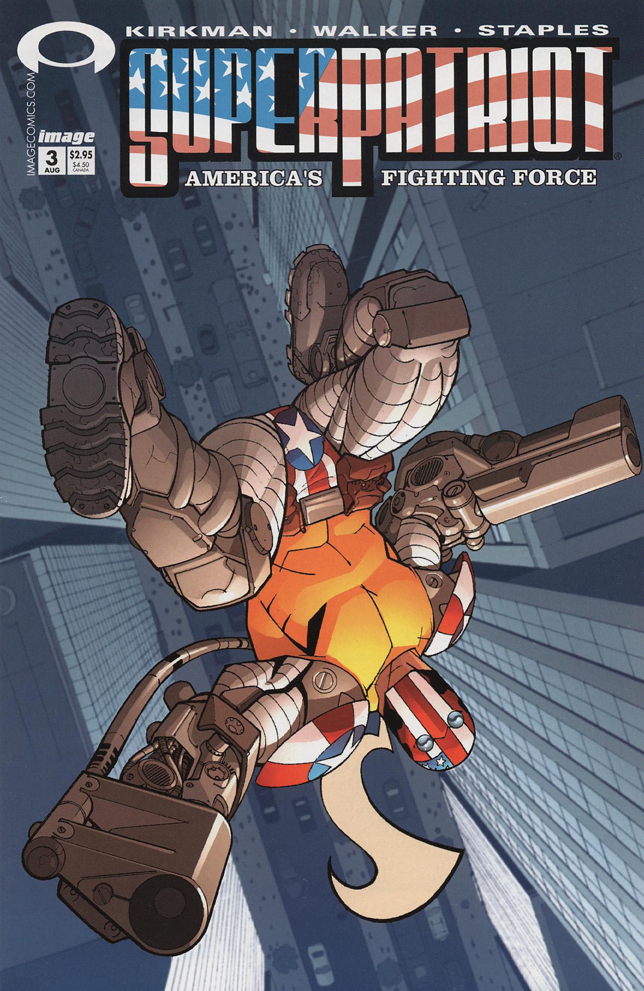 Cover SuperPatriot Vol.3 #3