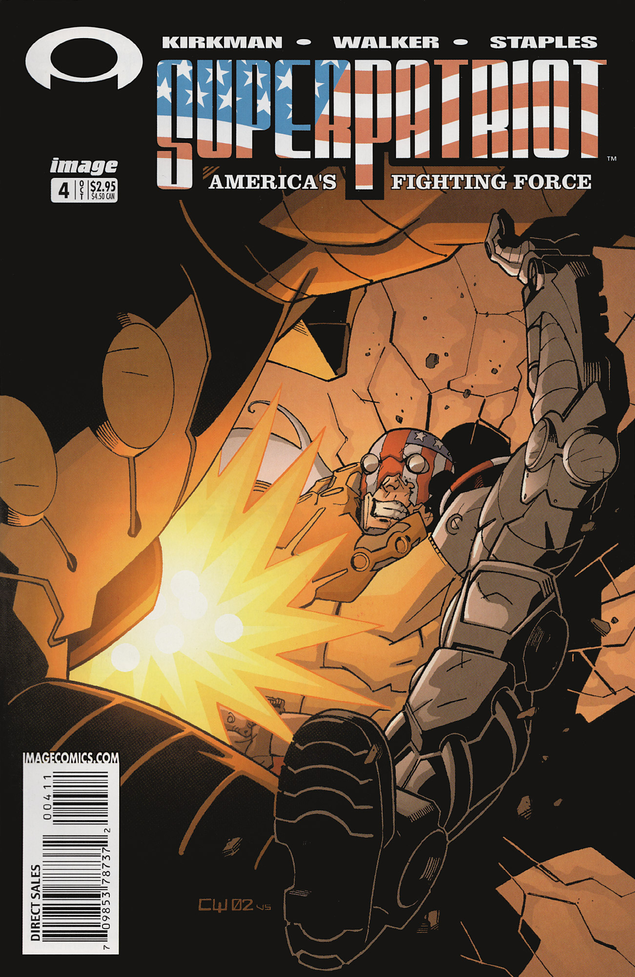Cover SuperPatriot Vol.3 #3