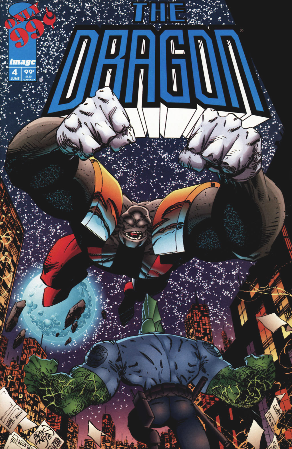 Cover The Dragon #4