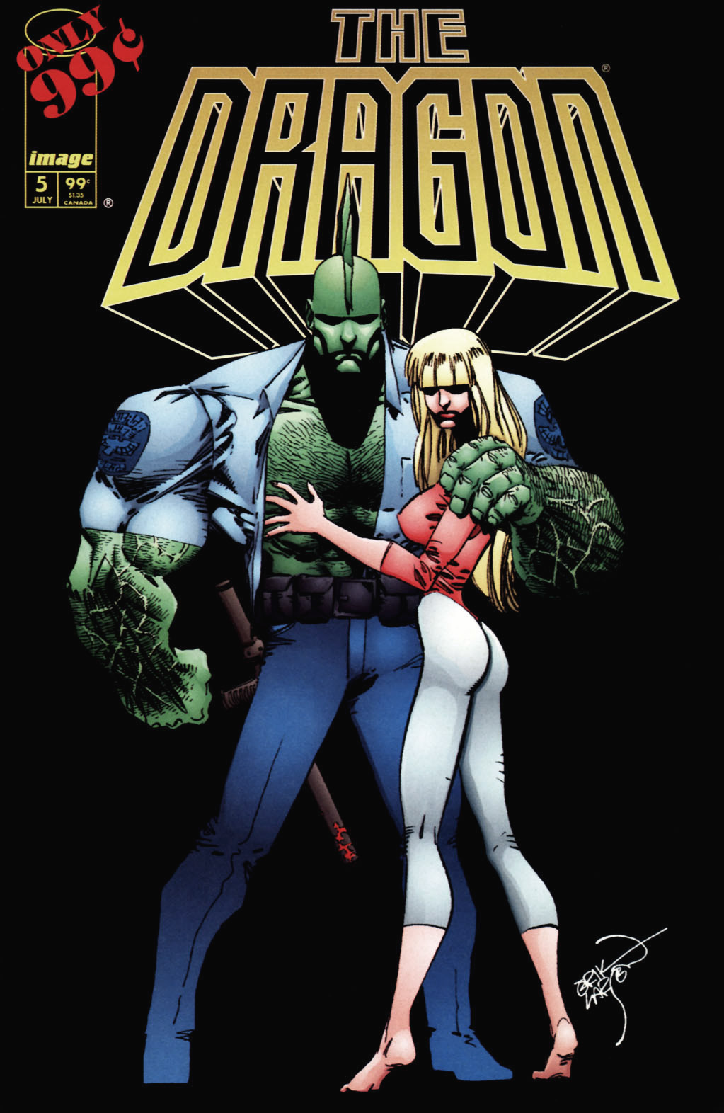 Cover The Dragon #5