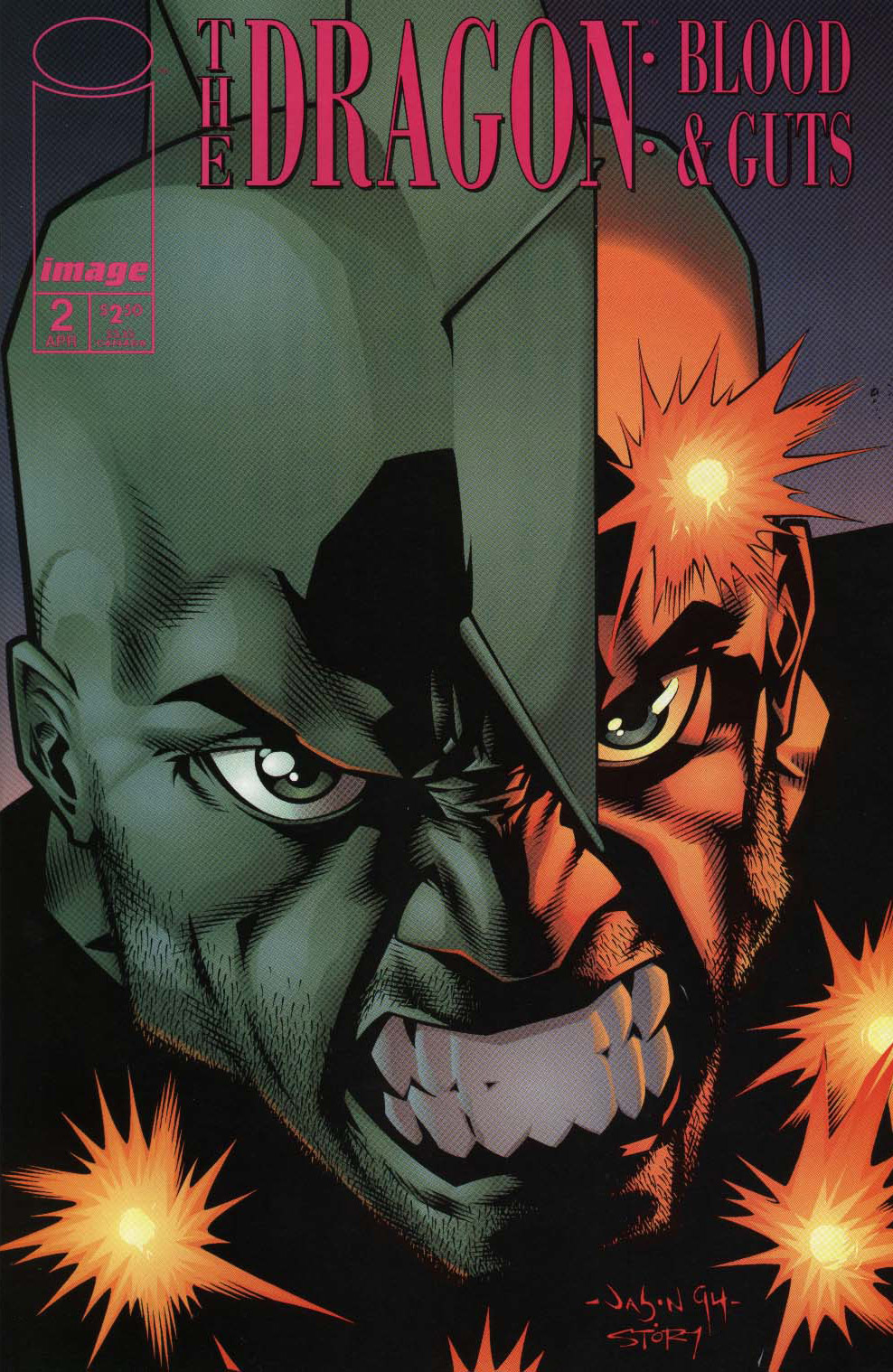 Cover The Dragon Blood & Guts #2