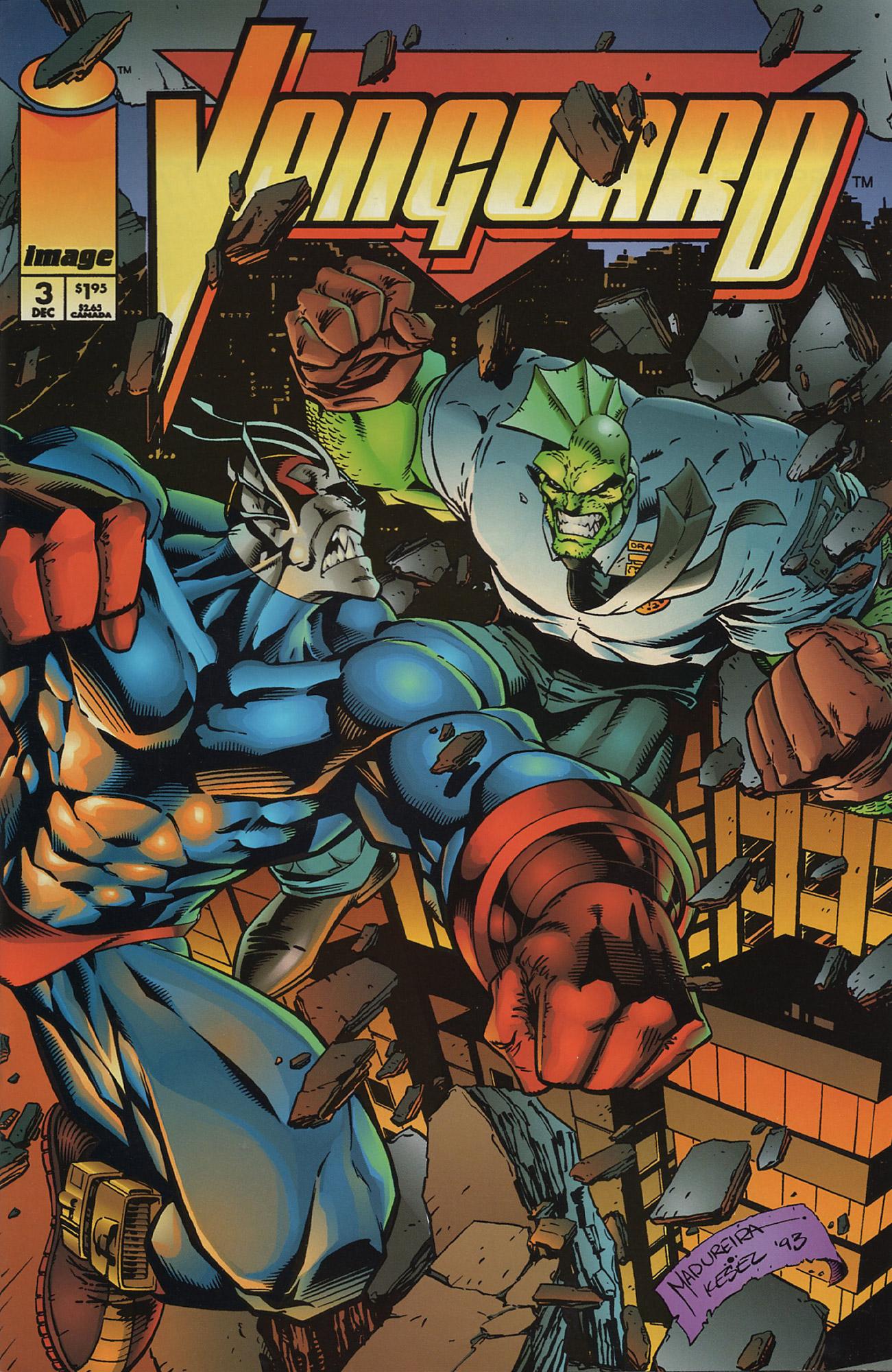 Cover Vanguard Vol.1 #3