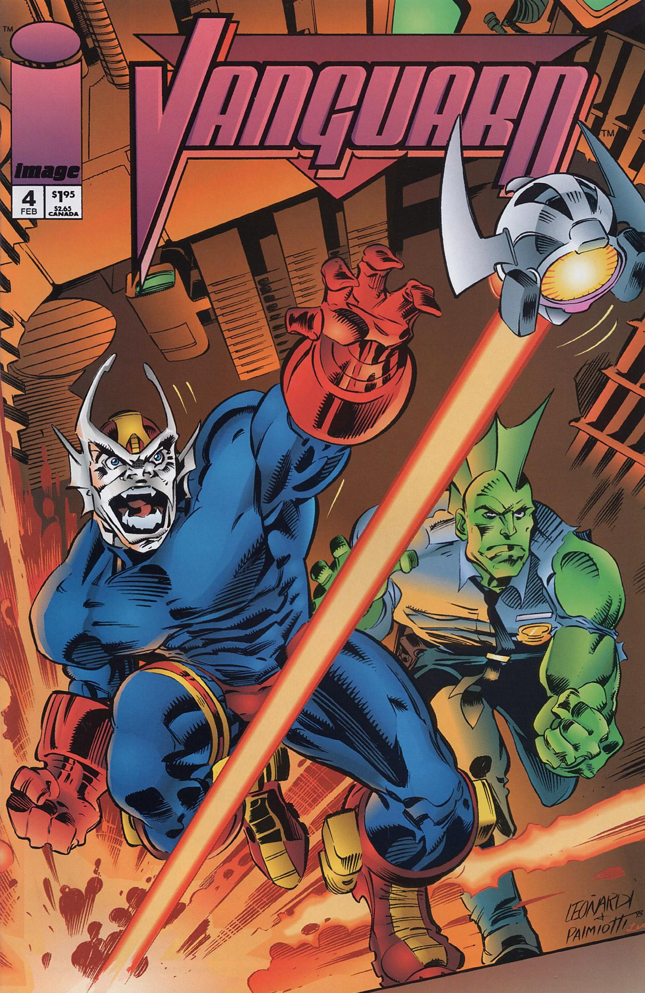 Cover Vanguard Vol.1 #4